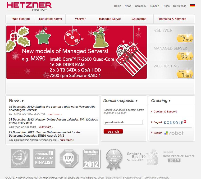 Hetzner Online Ag Hosting | Hetzner Online Ag Statistics - Websites