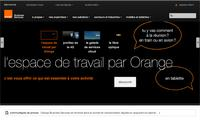 Orange SA - Site Screenshot