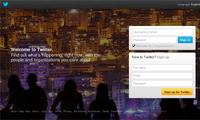 Twitter Inc - Site Screenshot