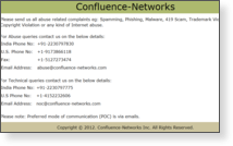 Confluence Networks Inc - Site Screenshot