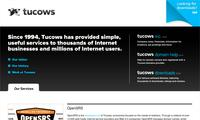 Tucows.com Co - Site Screenshot
