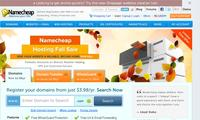 Namecheap, Inc - Site Screenshot
