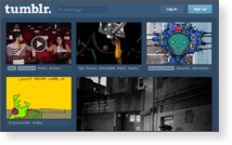Tumblr, INC - Site Screenshot