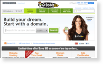 Godaddy.com, LLC - Site Screenshot