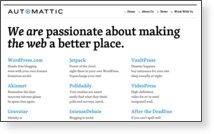 Automattic, Inc - Site Screenshot