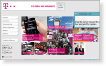 Deutsche Telekom AG - Site Screenshot