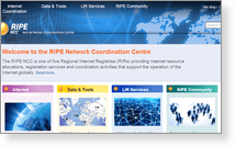 Ripe Network Coordination Centre - Site…